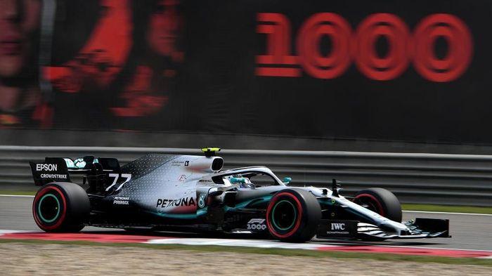 Valtteri Bottas rebut pole GP China. (Foto: Clive Mason/Getty Images)