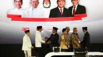 Real Count KPU Minggu Pagi: Jokowi 54,32%-Prabowo 45,68%