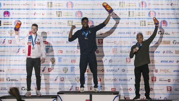 Aspar Jaelolo Raih Perunggu di Kejuaraan Dunia Panjat Tebing