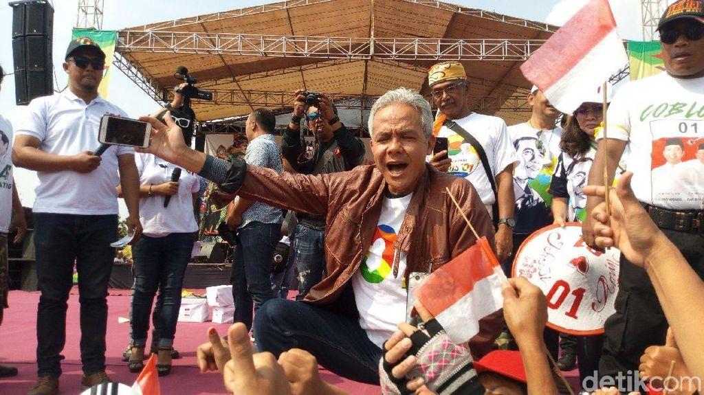 Prabowo Dapat Zonk di TPS Boyolali, Ganjar Singgung Pernyataan Sensitif