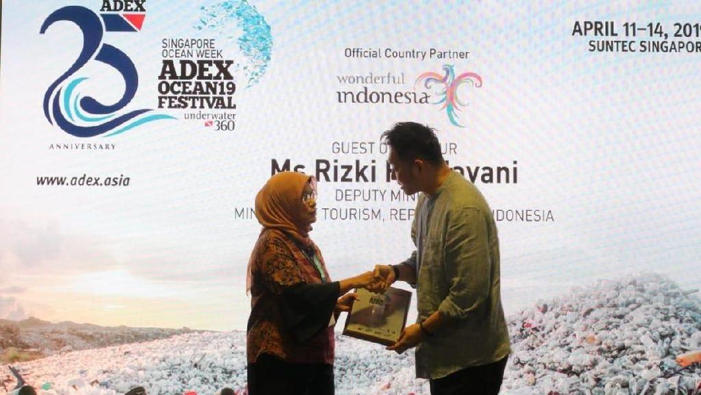 Wonderful Indonesia Raih 4 Award di Asia Dive Expo 2019