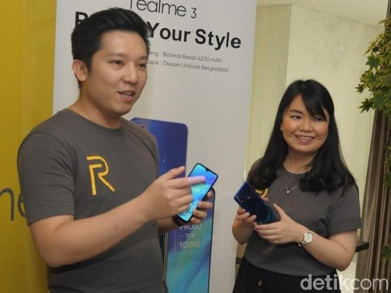 Realme 3 Hadirkan Smartphone Bagi Kaum Milenial