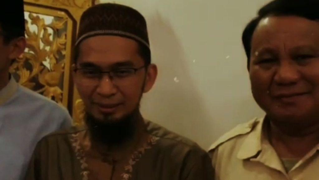 Setelah Somad, Prabowo Bertemu Ustaz Adi Hidayat