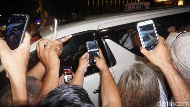 Mobil yang ditumpangi Prabowo