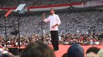 Jokowi Geber GBK di Konser Putih Bersatu