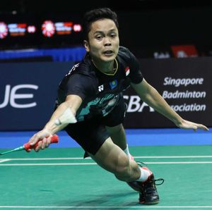 Anthony Kalah, Indonesia Tertinggal 0-2 dari Denmark