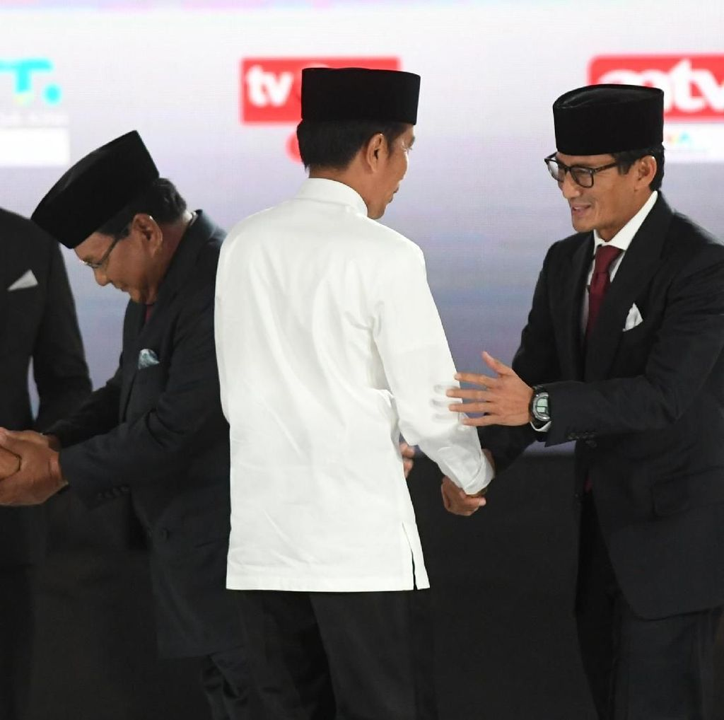 Update Real Count KPU: Jokowi 54,89% Prabowo 45,11%