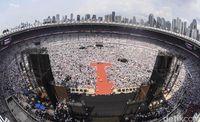 Jokowi ke Pendukung: Jangan Ada yang Takut ke TPS!