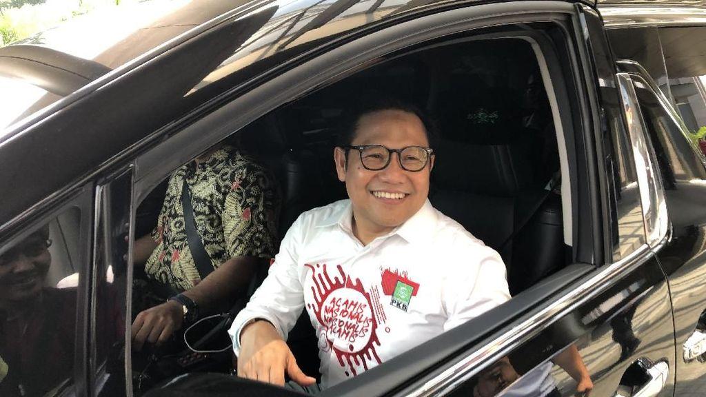 Selain Maruf Amin, Cak Imin Bahas Kursi Ketua MPR ke Airlangga