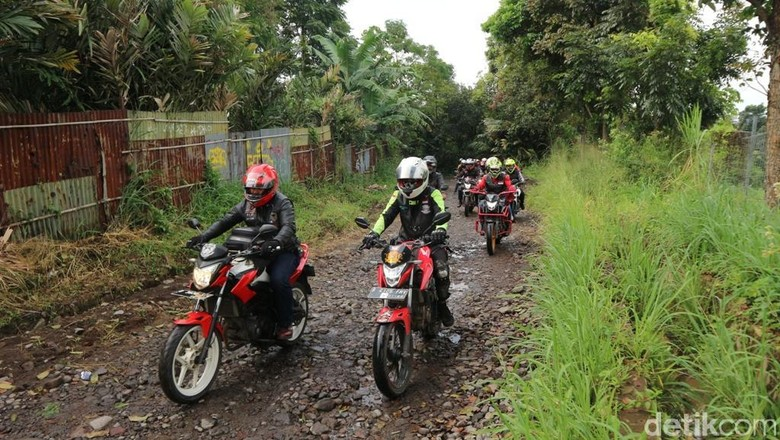 Honda Street Fire Club Indonesia Foto: Wahana