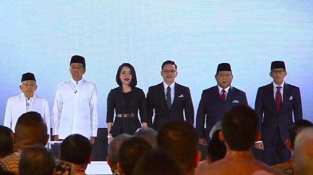 Situng KPU 66%: Jokowi-Maruf 56,1%, Prabowo-Sandi 43,9%