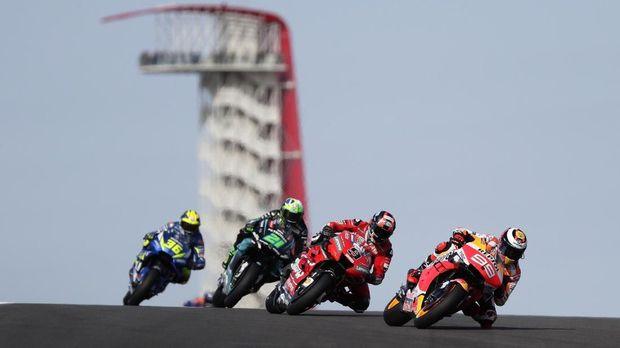Jorge Lorenzo berada di posisi kedua FP1 MotoGP Spanyol di belakang Marc Marquez.