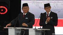 Prabowo-Sandi Janji Tak Ambil Gaji, Apresiasi Uang Relawan