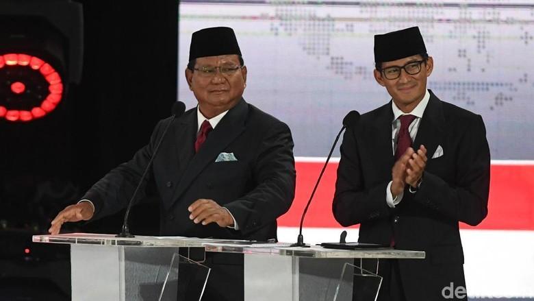 Prabowo Bawa Pernyataan KPK soal Kebocoran Rp 2 Ribu T ke Panggung Debat
