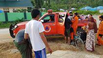Sebagian Warga Banggai Sulteng Balik ke Rumah Pasca Gempa M 6,8