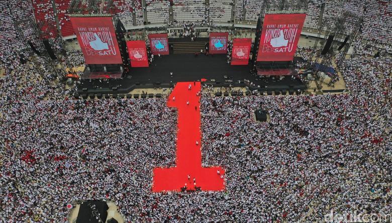 Yusuf Mansur Tutup Pidato Jokowi-Amin dengan Berselawat