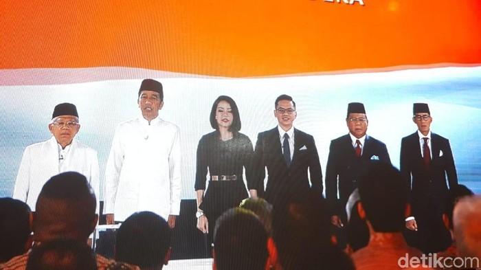 Debat Pilpres 2019 kelima. (Foto: Dwi Andayani/detikcom)