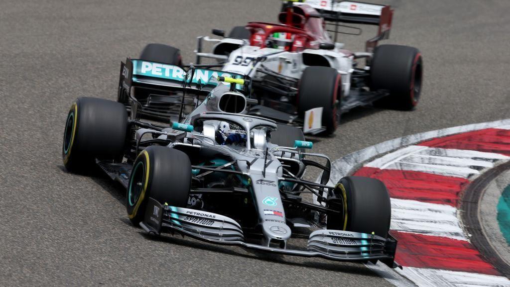 Bottas Kembali Tercepat di FP3 GP China