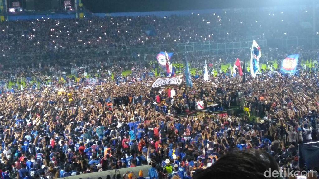 Puan Maharani: Selamat Arema FC, Salam Satu Jiwa