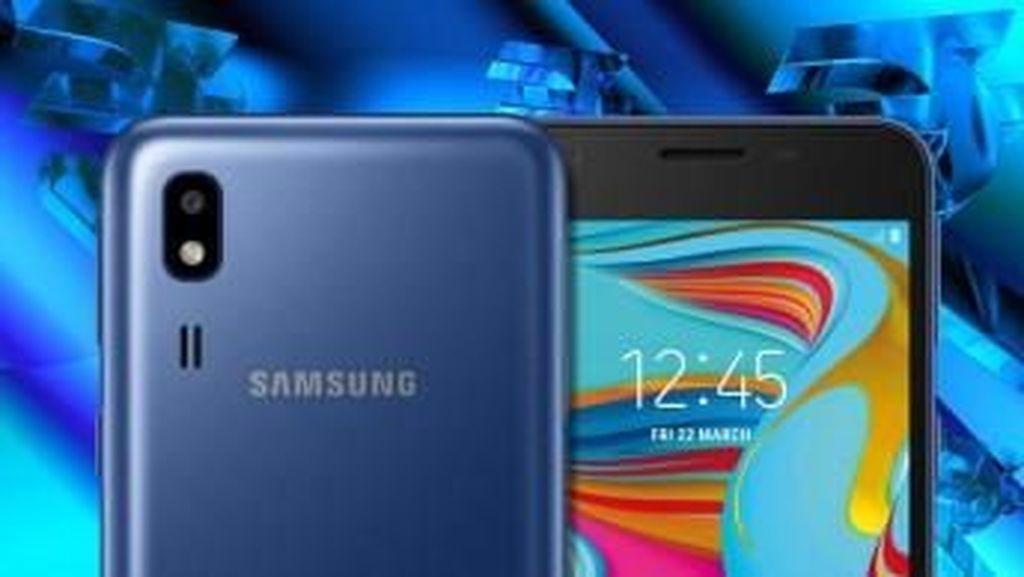 Samsung Lepas Ponsel 4G Berbasis Android Go Harga Murah