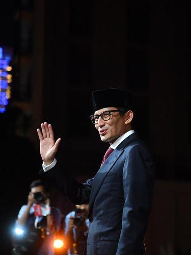 Sandiaga Uno, cawapres Prabowo.