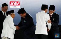 Masa Tenang Dimulai, Jokowi & Sandiaga Pilih Umrah
