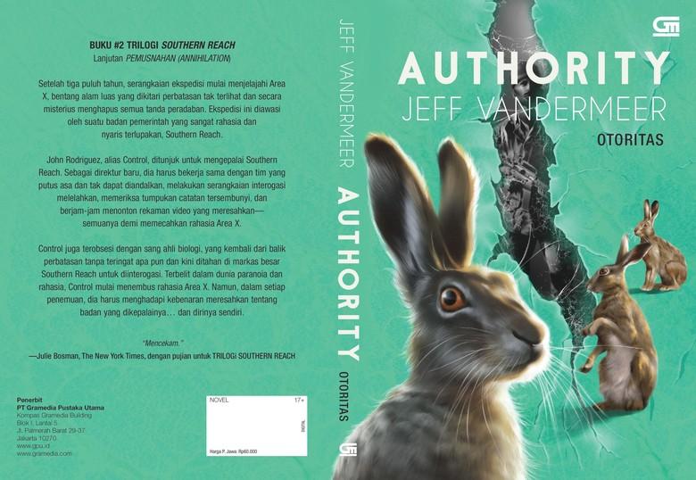 Sampul Edisi Bahasa Indonesia Novel Kelanjutan Annihilation Terungkap