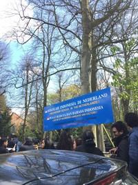 Salah satu TPS berada di Sekolah Indonesia di Nederland, Den Haag