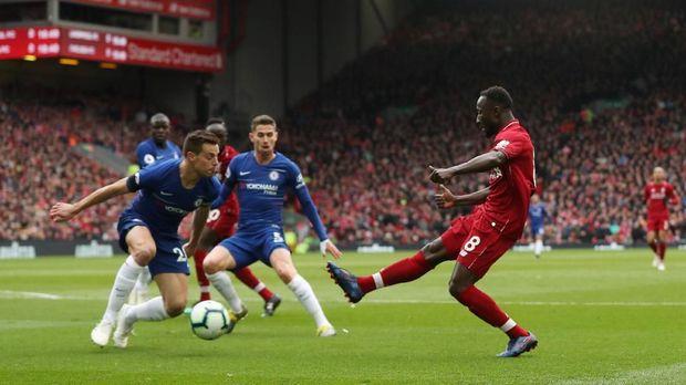 Liverpool kalahkan Chelsea 2-0 di Liga Inggris.