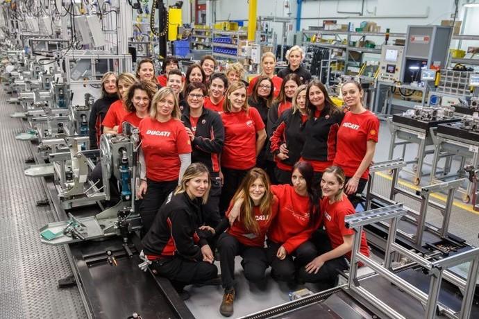 Wanita-Wanita Pekerja Ducati
