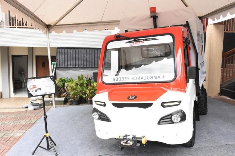 Mobil Desa Jadi Feeder Ambulans. Foto: Dok. Kementerian Perindustrian
