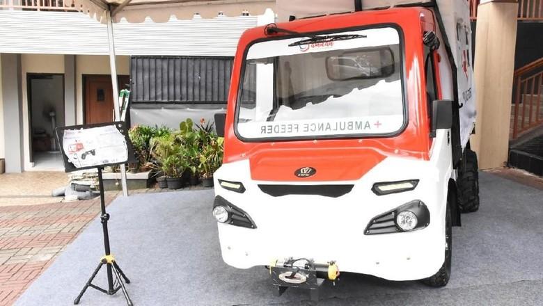 Mobil desa yang menjadi Ambulance feeder Foto: Dok. Kementerian Perindustrian