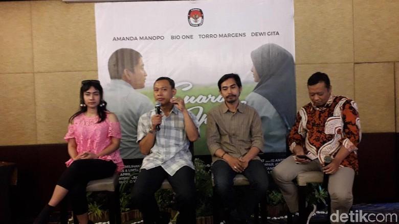 Film Suara April, Ajakan KPU Nyoblos di Pemilu 2019