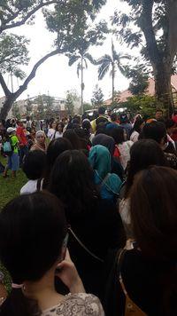 WNI di Singapura Ramai-ramai Nyoblos, Antrean di Luar KBRI Mengular