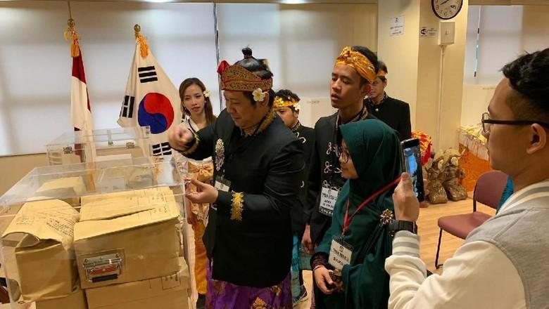 Dinginnya Seoul Tak Surutkan Semangat WNI untuk Nyoblos Pemilu 2019