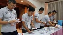 WNI di Kamboja Meriahkan Pencoblosan Pemilu 2019 dengan Pesta Rakyat