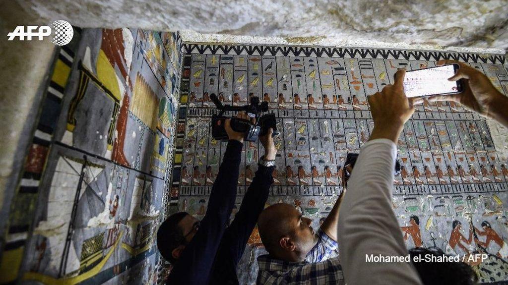 Makam Mesir Kuno Berusia 4 Ribu Tahun Terungkap, Ini Penampakannya