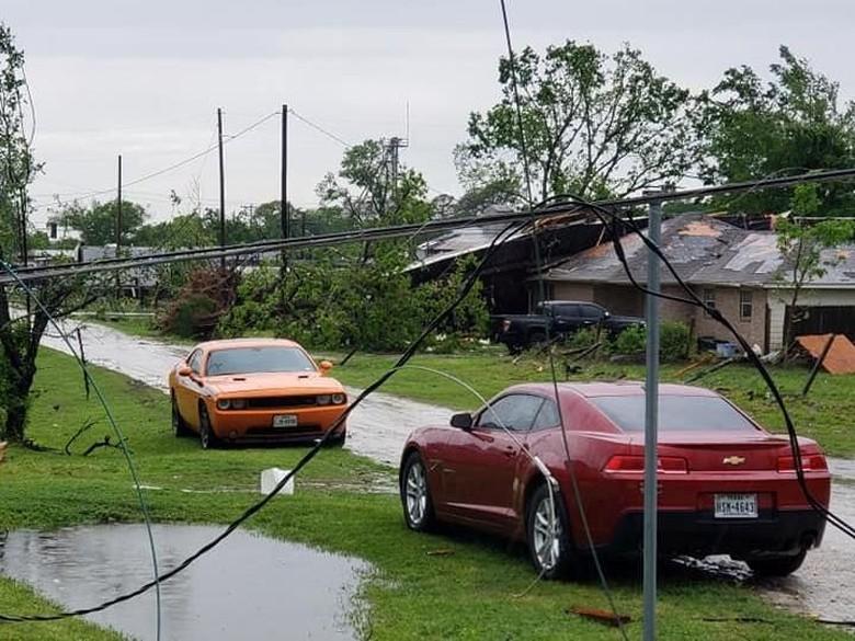 Tornado Dahsyat Terjang Texas, 2 Anak-anak Tewas