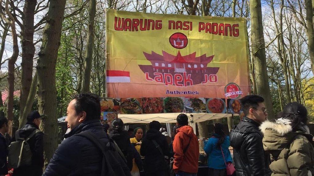 Bazaar & Dangdutan Ramaikan Pemungutan Suara untuk WNI di Belanda