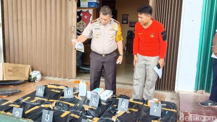 Kapolres Tanjung Jabung Barat AKBP Adg Sinaga (Ferdi/detikcom)