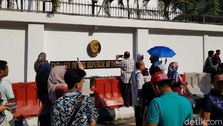 Suasana pencoblosan di Malaysia (Ashri Fathan/detikcom)