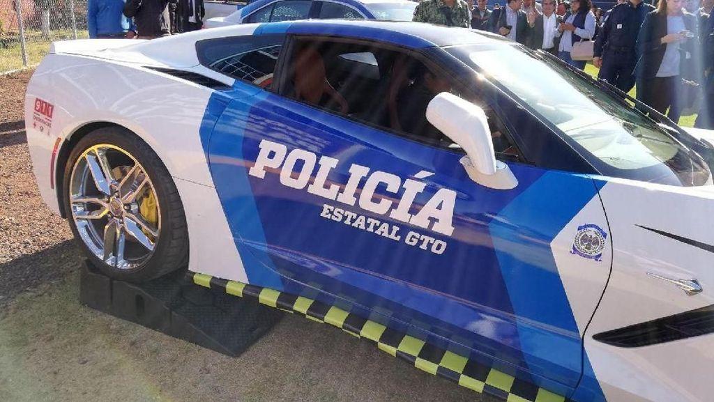 Mobil Sport yang Disita Jadi Kendaraan Dinas Polisi