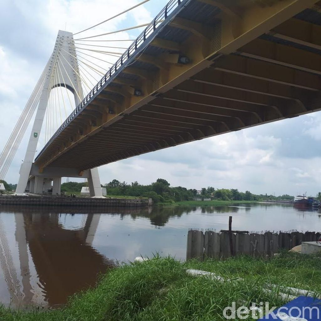 Dinas PU Riau: 45 Baut Hilang di Jembatan Siak IV Sudah Diganti