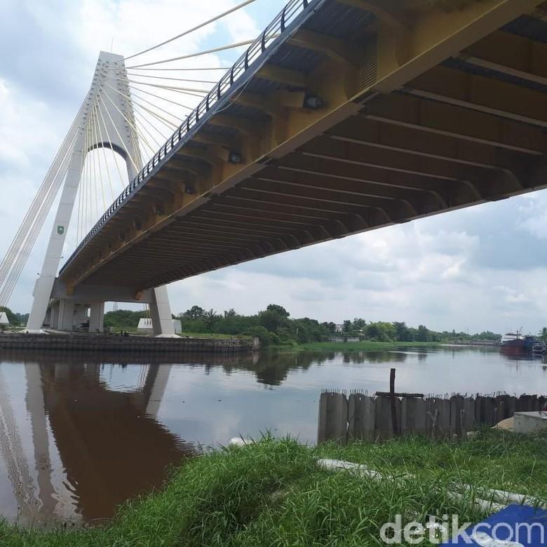 Ironi Baut Jembatan Siak IV Riau Dicuri Saat Baru 2 Bulan Operasi