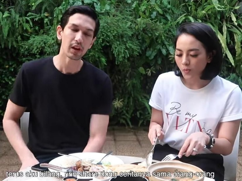 Foto: Dimas Beck dan Ririn (YouTube)