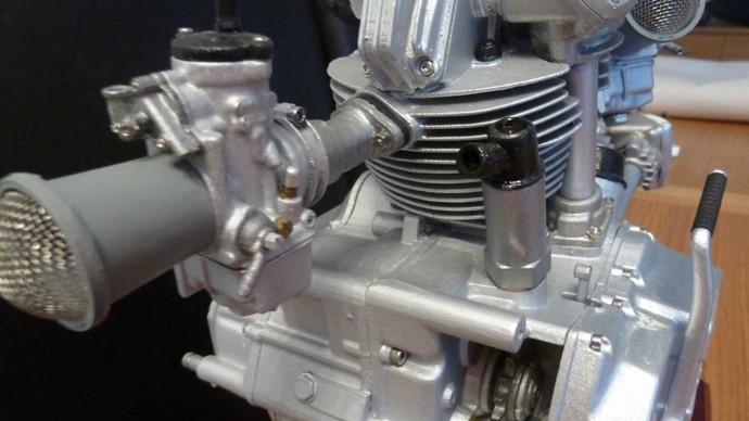 Replika Mesin Mungil Ducati