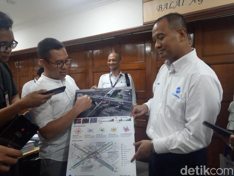 DKI Siapkan Rp 30 M Bangun Skybridge Halte TransJ-Stasiun MRT ASEAN