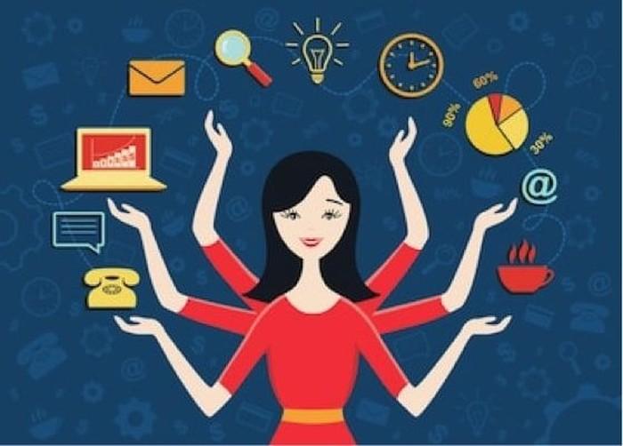 Cara cerdas perempuan dalam memenuhi berbagai tanggung jawab (Foto: Shutterstock)