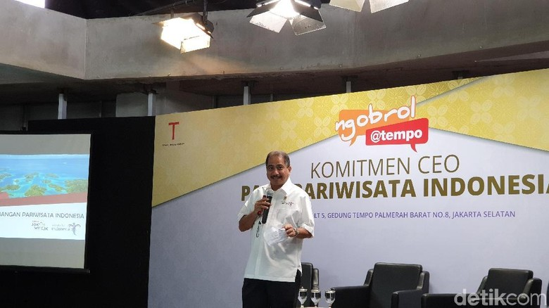Menteri Pariwisata Arief Yahya (Masaul/detikcom)