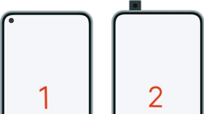 Dua wujud kandidat calon smartphone flagship Redmi. (Foto: dok. Weibo via GizChina.com)
